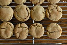 Gingerbread Softies: made these with sorghum and palm shortening, really tasty