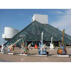 Rock and Roll Hall of Fame Museum Cleveland, Ohio