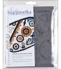 Lisa Pavelka Stamp Sheets-2PK/Steampunk