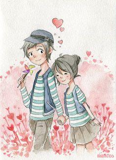 Couple by Menstos on DeviantArt