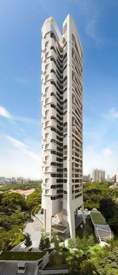 Ardmore Residence, Singapore by UN Studio :: 36 floors, height 135m