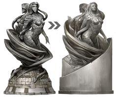 Lyssa statue - Game: Guild Wars 2
