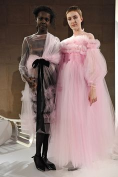 London Fashion Week - Molly Goddard sheer tull perfection call instore to see our range of tull skirts