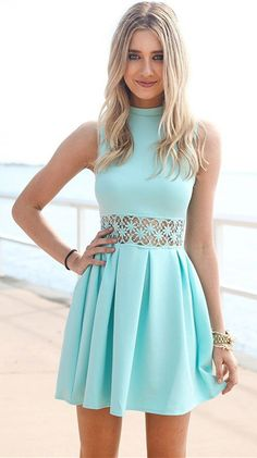 short homecoming dresses,blue homecoming dresses,simple homecoming dresses,simple homecoming dresses @simpledress2480