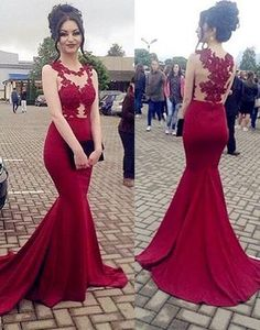 Prom Dresses Sexy, Burgundy Evening Dress, Long Evening Dress, Evening Dress Mermaid, Prom Dresses With Appliques Prom Dresses 2019 Red Formal Dresses, Prom Dresses 2018, Pageant Gowns, Cheap Bridesmaid Dresses, Formal Evening Dresses, Party Gowns, Evening Gowns, Formal Prom, Dress Prom