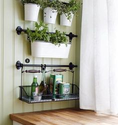 Love the wall color and the hanging baskets. I foresee this as being the colors and style of the kitchen nook (with some added teal).  AmazonSmile - Ikea Wire Baskets w/ Bottom Tray Hang or Free Stand Multi Use Dish Drainer / Cutlery Caddy / Shelf / Napkin Holder / Kitchen S...