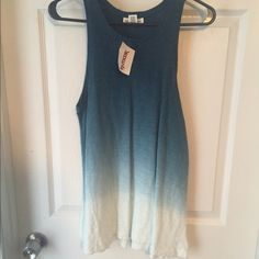 Ombré tank top Brand new with tags. Size extra small Tops Tank Tops