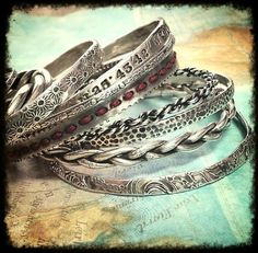 Cool Silver Boho Jewelry by HappyGoLicky for a carefree Bohemian allure FOLLOW http://www.pinterest.com/happygolicky/the-best-boho-chic-fashion-bohemian-jewelry-gypsy-/ for more Bohemian Fashion Ideas