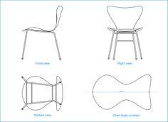 Planos silla