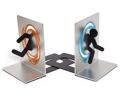 The Books That Can Pretend That They Can Go Through Portals. Not that I have room for bookends...