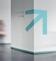 Spa Wayfinding Icon System by Emech Zeinali, via Behance Signage Display, Signage Design, Branding Design, Environmental Graphics, Environmental Design, Design Visual, Creative Design, Navigation Design, Office Signage