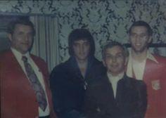 1973 1 29-31 With Joey Hadley, Sr., Memphis boxer Joey Hadley, and Joey's coach, Las Vegas Hilton
