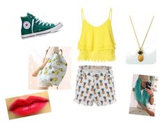 """""""Summer Sweetness"""" by paisleypuppy ❤ liked on Polyvore featuring Glamorous, Converse, Tallulah's Threads, Canvas Love, women's clothing, women, female, woman, misses and juniors"""