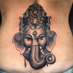 Ganesh #ganesh #tinta #tattoo #tatuajes #ink #hindu #india (at Ink in tattoo)