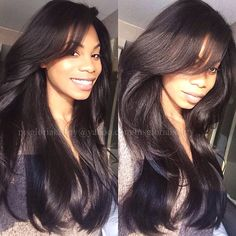 Effortless hair! I'm wearing low luster virgin-Russian hair with a silk top low luster closure and plenty of layers for effortless movement! Thanks to kenra volume spray and a little back-combing for height and volume in my bang. #hairstylist #cosmetologist #coiffure #cheveux #hair #hairweave #hairextensions #silkclosure #silkbaseclosure #silktopclosure #russianhair #layers #longhair #hairextensions #sidebang #fringe #bangs #lowlusterhair #backcombing #kenra #kenraproducts #styleseat for…