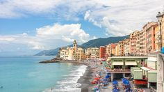 Camogli is a small fishing village in North-West Italy. This article gives a review and provides tips on what to do in Camogli in summertime. Beach, food, San Fruttuoso trip.