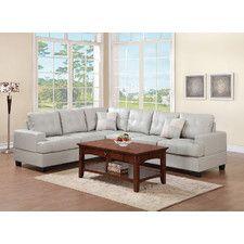 Sectional Sofas - Color: Grey-White | Wayfair