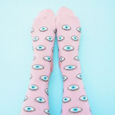 Here are the Coucou Suzette GLITTERY EYE SOCKS! Very high quality, made in…