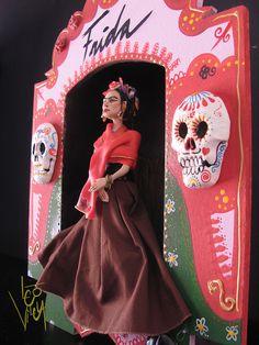 santuario Frida Kahlo   Flickr - Photo Sharing!