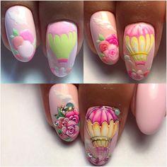 "826 Likes, 15 Comments - Manicure , Nail-art. (@olesya_art_glukhova) on Instagram: ""Как и обещала """