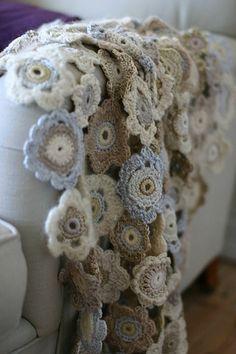 Qrochet blanket by Alicebyday, via Flickr