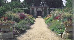 The kitchen garden at Somerleyton Hall, East of England