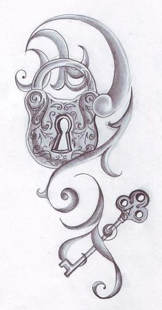 This is a tattoo I drew for my friend~ It's the first tattoo that I've ever drawn, actually.