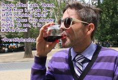It's 10am! That means it is #wineoclock somewhere! #Wine #TeamSplendor https://youtu.be/-uO9_a6GW-M