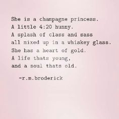 Champagne princess