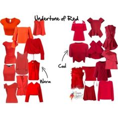 Undertone of red