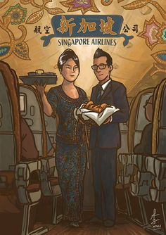 Singapore Airlines | 9th August 2013 | The Singapura Images | theMOOSE | makan travel 画画 * a Singapore food and travel blog #NationalDay