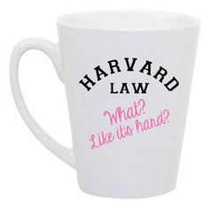 Legally blonde quote mug