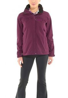 Marmot Phoenix Jacket Womens 1261 Womens Rain Gear 1261-6765 DARK PURPLE SZ-L