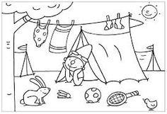 thema kamperen werkbladen - Google zoeken