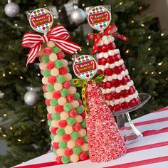 DIY candy topiary