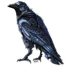 rene-art:Deviser ~Illustrative interpretation of the Crow;