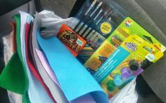 Craft Store Run- always happy to encourage creative hobbies, so when a tenants asked for a ride to the craft store, I rounded up a few tenants and went