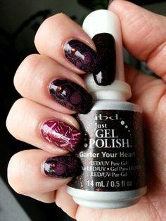 IBD nail art Nail Art 2014, Gel Polish, Nails, Beauty, Finger Nails, Ongles, Gel Nail Varnish, Nail, Cosmetology