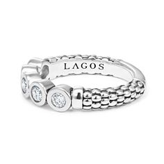 Shop Stacking Rings by LAGOS for the most sophisticated, modern women. Stack multiple rings for a fashionable look. In gold, sterling silver & two tone. Diamond Stacking Rings, Stackable Rings, Luxury Christmas Gifts, Multiple Rings, 18k Gold, Wedding Rings, Engagement Rings, Jewels, Sterling Silver