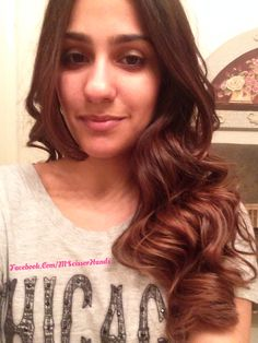 Ombre and balayage on dark hair