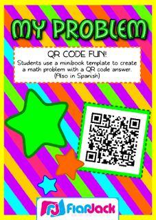 FlapJack Educational Resources: QR Code Math Freebies
