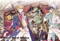 Hetalia - America, England, France, and Prussia : The American Revolution Hetalia France, Hetalia England, All Anime, Manga Anime, Anime Boys, Hetalia Fanart, Hetalia Anime, Hetalia America, Hetalia Axis Powers