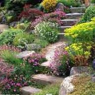 1000+ images about Landscaping: Slope on Pinterest ... on Uphill Backyard Landscaping Ideas id=48880