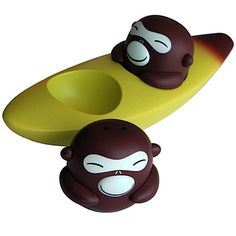 monkey salt n pepper shakers
