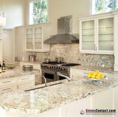 Latinum Granite Granite Slab, Granite Counters, Kitchen Counters, Kitchen  Backsplash, Backsplash Ideas