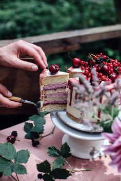 Gluten-free Cherry-Cardamom Cake & a Gathering in the Woods - Our Food Stories Gluten Free Baking, Gluten Free Desserts, Just Desserts, Sweet Recipes, Snack Recipes, Snacks, Cardamom Cake, Cake Shots, Muffins
