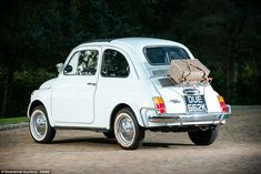 The 12-car collection, owned by a private gentleman, also includes a 1972 Fiat 500L (pictured), valued at £22,000, which David Cameron once bought as a birthday present for his wife Samantha.It will be put up for sale at the Silverstone Auctions' Classic Motor Show Sale at Birmingham's National Exhibition Centre on November 12 and 13