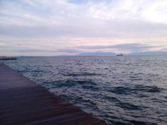 thessaloniki-new beach Thessaloniki, Beach, Water, Outdoor, Gripe Water, Outdoors, The Beach, Beaches, Outdoor Living