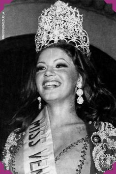 María Antonieta Cámpoli Prisco. Miss Nueva Esparta 1972. Miss Venezuela 1972  Recibió un automóvil Camaro de color amarillo tras ganar el concurso.