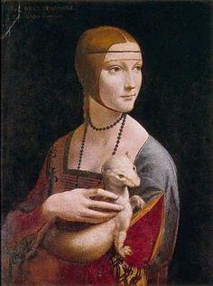 Léonard de Vinci    La dame à l'hermine